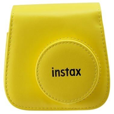Fujifilm instax mini 9 Sarı Deri Çanta Sarı